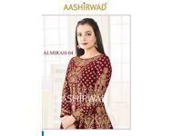 AASHIRWAD ALMIRAH VOL-4 WHOLESALE DESIGNER ANARKALI SUITS