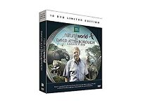 THE NATURAL WORLD - DAVID ATTENBOROUGH COLLECTION