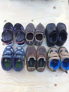 Excellent condition sizes 7 & 8 toddler boys shoes/sneakers!!