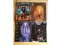 Steve Vai - 4 Song Books: Passion and Warfare / Sex & Religion / Alien Love Secrets / Steve Vai