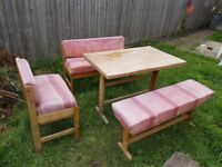 Table and benches FREE
