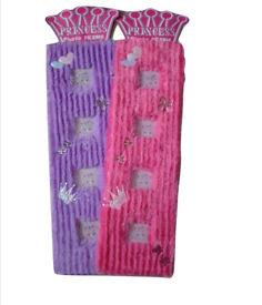 Joblot 96x Purple Fluffy Princess Photo Frames wholesale clearance stock