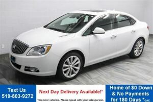 2014 Buick Verano LEATHER! NAVIGATION! SUNROOF! $78/WK, 4.74% ZE