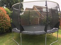 12ft Plum trampoline with surround