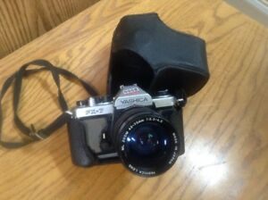 Yashica Camera with Accessories