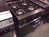 ELECTRICAL 4 BURNER COOKER CATERING GAS OVEN FASTFOOD COMMERCIAL MACHINE RESTAURANT DINER PUB SHOP