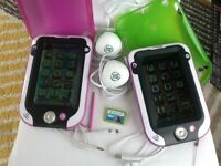 Leap pad ultras(x2) bundles with gel covers and games
