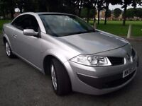 Renault Megane 1.6 Karmann VVT Dynamique Convertible, 12 Months mot, Hpi clear, Cheap petrol,Tax