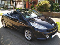 Great little but spacious convertible in excellent condition!Peugeot 207 CC 1.6 16v 120 Coupe GT