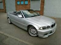2002 BMW 330Ci M Sport 3.0 Auto convertible 3 series, 231 BHP, long MOT, may SWAP or P/X