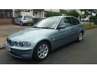 BMW 3 SERIES E46 COMPACT 2002 02 LOW MILEAGE