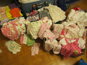 BABY and Toddler Clothes - 3-6 months and UP