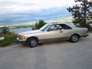 1990 Mercedes-Benz 560 sec-Series Coupe (2 door)