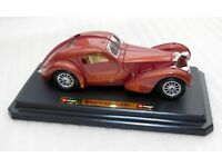Bugatti Atlantic (1936) Classic Vintage Sports Car. 1/24. Copper Colour. Boxed