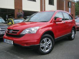 2011 11-Reg Honda CR-V 2.2i-DTEC SE,DIESEL,BRIGHT RED,GREAT VALUE!!!!