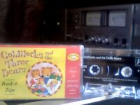 GOLDILOCKS AND THE THREE BEARS BY TREASURED TALES PRERECORDED CASSETTE TAPE ISSUED BY PARAGON ; 2002