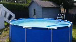 Piscine  pool démontable 14 pieds