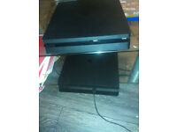 2 X PLAYSTATION 4's (slim) For Sale (with games)
