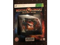 Mortal kombat collectors edition statue and art book x