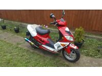 Pulse 125 cc moped