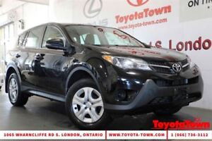 2013 Toyota RAV4 SINGLE OWNER LE NEW BRAKES