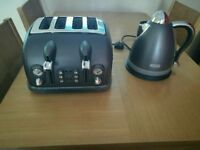 Delonghi toaster & kettle