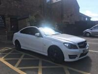 Mercedes c220 coupe amg sport diesel 2.1