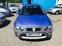 2003 ROVER STREETWISE S 1.4 MOT MAY 2018 HALF LEATHER SEATS