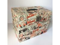 Decoupage 1960's Judy Filing box