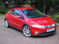 AA WARRANTY!! 2007 HONDA CIVIC 2.2 i-CTDi SPORT 5dr 1 OWNER ONLY 52000 MILE