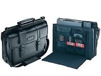 Targus Premier Leather - notebook carrying case (brand new)