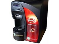 Coffee Machine - perfect for small business - Kenco Singles Brewer, & Capsule Stand, RRP, £700
