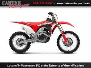 New 2017 Honda CRF450RXH