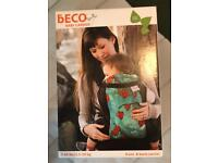 Beco Butterfly 2 ergonomic baby carrier sling in black