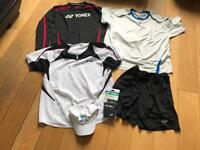 Yonex Tennis Bundle (Tops XXL Shorts XL)