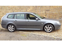 SAAB 9-3 SPORT 2.0 ESTATE VECTOR T.0.R 07 2007 1 OWNER FSH IMMCULATE HIGHLY MAINTAAINED £1050