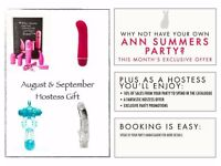 Book Your Ann Summers Party TODAY!