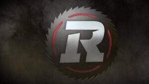 REDBLACKS VS Ticats 27 Oct