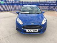 2013 FORD FIESTA 1.6 TDCI ECONETIC ZETEC S/S 5DR MAIN DEALER HISTORY £0 ROAD TAX