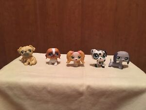 Pet shop chien lps littlest petshop