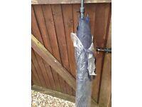 Fishing umbrella new dark blue