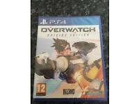 PS4 over watch game NEW
