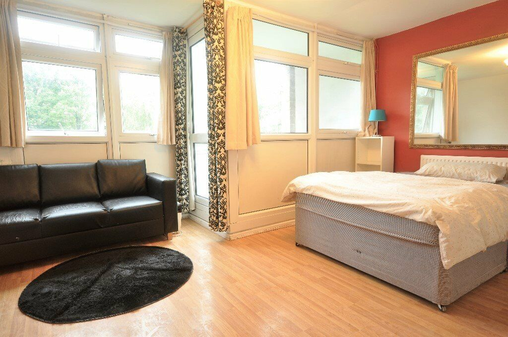 Newly Refurbished 5 Bedroom Apartment, Wood Floors, Fitted Kitchen, Euston, *Close to UCL/LSE*