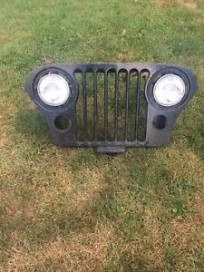 1970s jeep grill