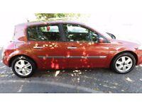 2005 Renault Megane 1.4 16v Dynamique 5dr @07445775115@ 07725982426@