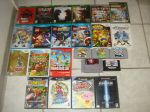 Xbox One,Wii U,Wii,GC,SNES,Genesis Games & More!