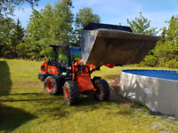 Small Loader for Hire