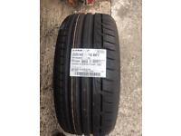 205/40/18 Dunlop Tyre