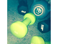 Weights dumbbell and ball bell