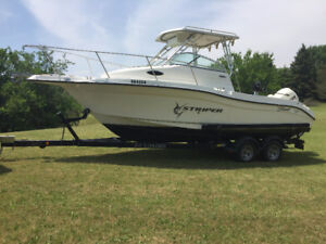 2006 23' Striper with 225 Evinrude (2301 WA)